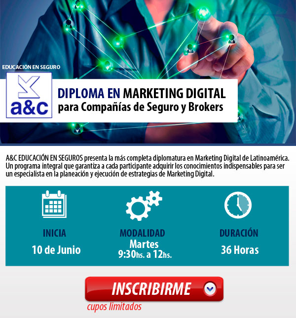 DIPLOMATURA MARKETING DIGITAL PARA LA INDUSTRIA DEL SEGURO
