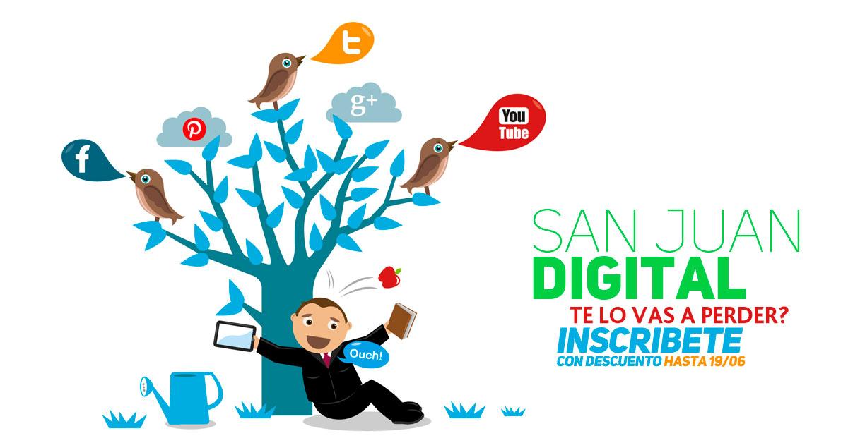 Evento de marketin y Redes Sociales en San Juan a cargo de Sebastián Brizuela